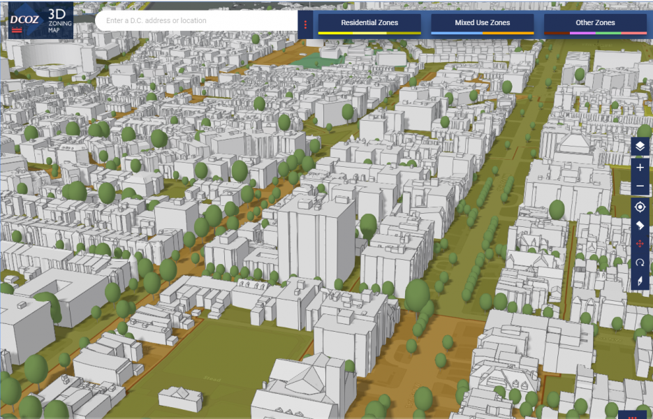 3D Zoning Map Launched | dcoz on