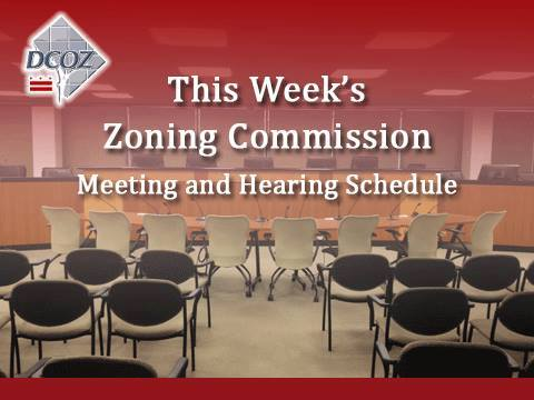 Zoning Commission Meeting and Hearing Schedule