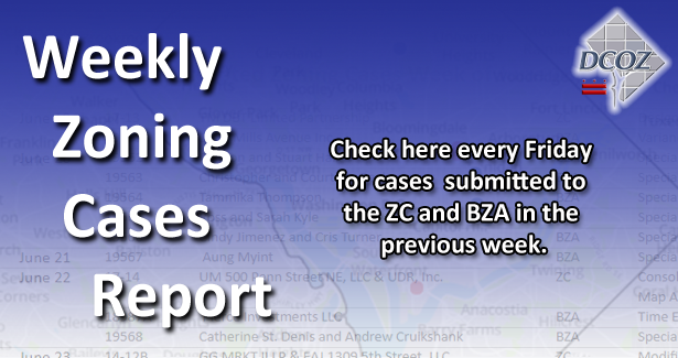 Weekly Zoning Cases Report